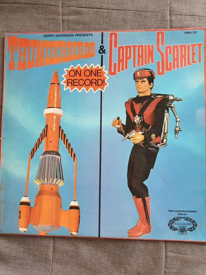 LP, Thunderbirds & Captain Scarlet, Thunderbirds &