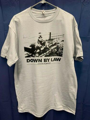 Down By Law Film By Jim Jarmusch Gray T-Shirt *Brand New* Bonuses Tom Waits