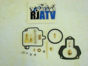 New 1996-1998 Yamaha Kodiak 400 4x4 Complete Carburetor Carb Repair Rebuild Kit