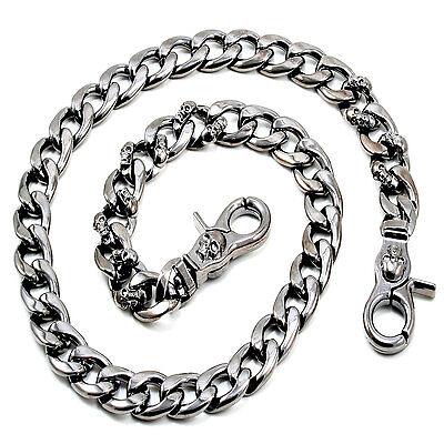 "[ID: boxerfreak50] Wallet Chain (21"") Black CS145 Offer Chain"