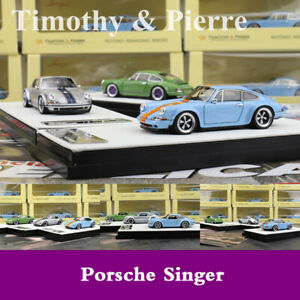 Timothy-amp-Pierre-1-64-Scale-Porsche-911-964-Singer-LIMITED-Car-Model-Collection