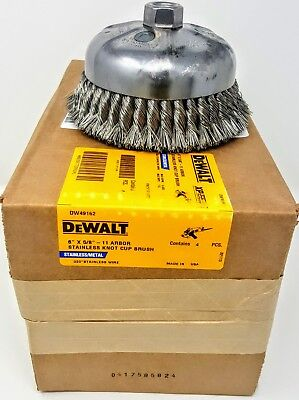 """Pferd 51211 Knot Wire Cup Brush Double Row 6/"""" x 0.20 x 5//8-11"""
