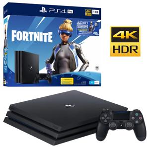 PlayStation-4-PS4-Pro-1TB-Fortnite-Neo-Versa-Console-Bundle-NEW