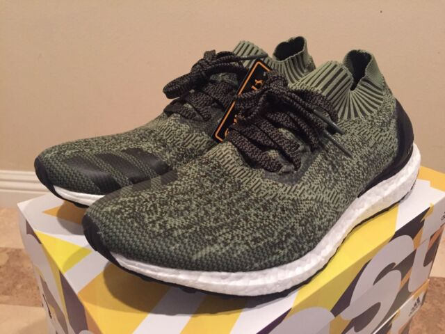 adidas Originals Ultra Boost Uncaged Olive Tech Earth Green Black Bb3901 10