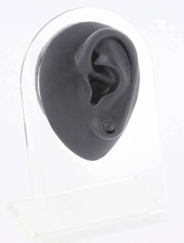Silicone Plug Left Ear Display Black Body Bit Version 1