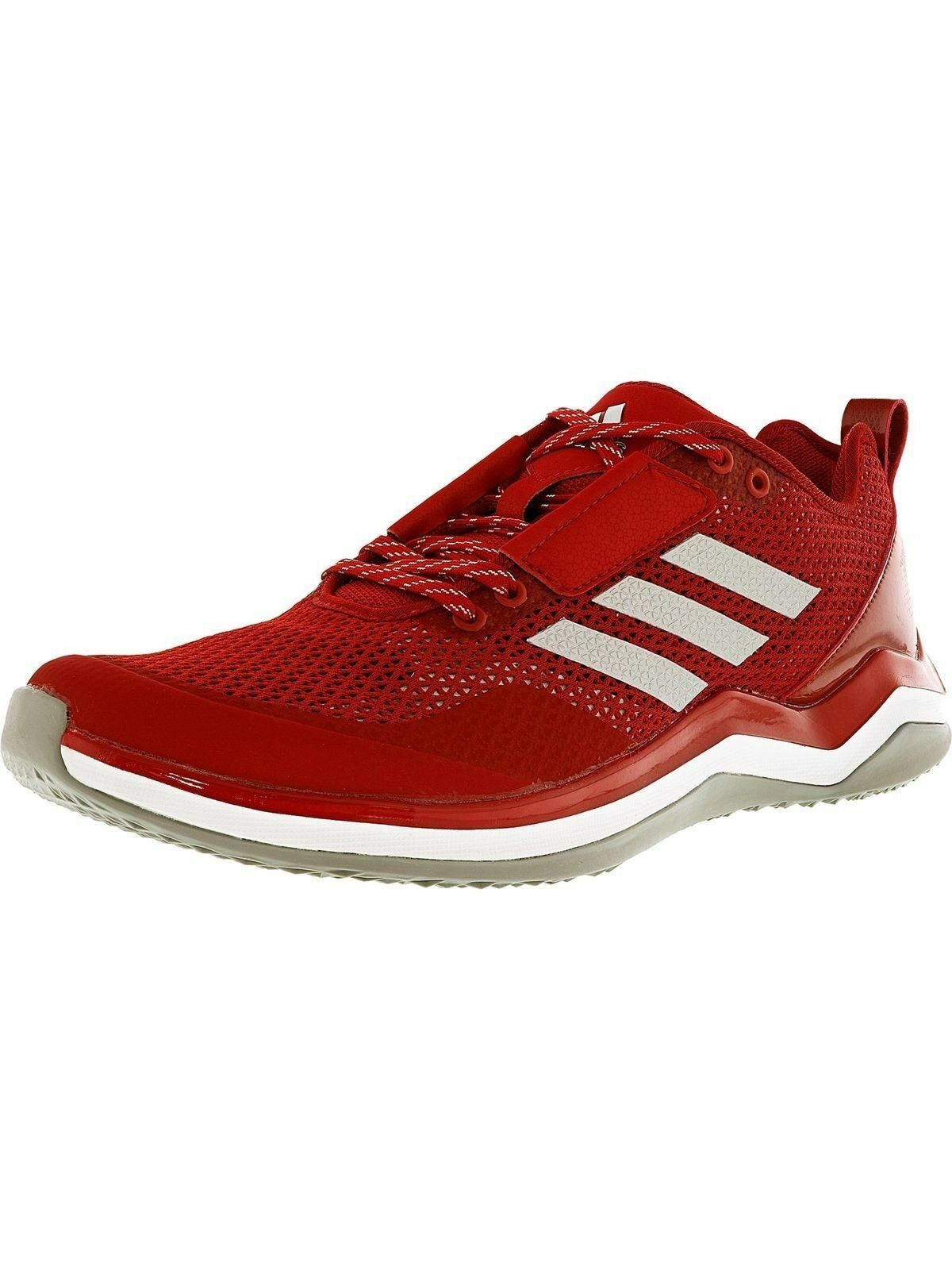 Adidas Size 18 Performance Speed Shoes 3.0 Cross-Trainer Men's Shoes Speed Red/ Sil/Whi New 76b289