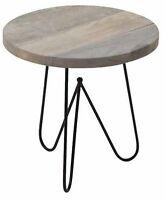 w rfel beistelltisch kubus 25x25cm feinbeton grau tischbeine massivholz buche ebay. Black Bedroom Furniture Sets. Home Design Ideas