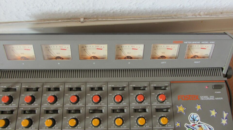 Mixer, Fostex Model350