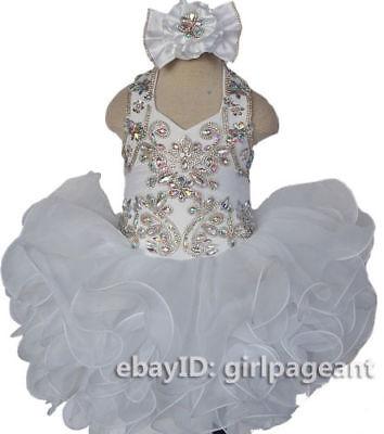 New Toddler Kids Flower Girls Cotton Print Dress Pageant Wedding Easter M708