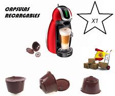 CAPSULAS DOLCE GUSTO RECARGABLES RELLENABLES REUTILIZABLES DE CAFÉ
