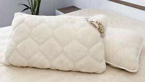 100% laine de mérinos, Lamswool Taie d'oreiller 45 x 75 1x PILLOWCASE 45 x 75 cm