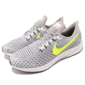 Courageux Nike Air Zoom Pegasus 35 White Volt Gris Hommes Chaussures De Course Baskets 942851-101-afficher Le Titre D'origine