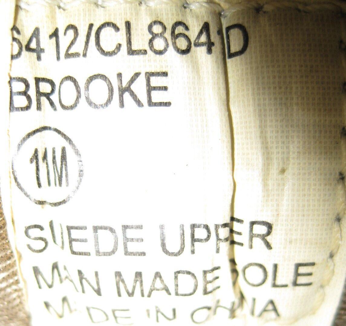 Brooke Damens Athletic Größe Mules  Größe Athletic 11 M Braun Suede Mesh Style 6412 CL8641D 172141