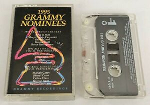 Various-Artists-1995-Grammy-Nominees-Cassette-Compilation-Rock-Funk-Pop