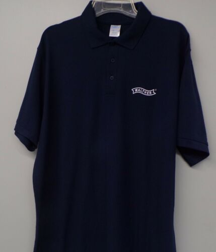 LT-4XLT Gun Rights PPK PPQ New Walther Firearms Mens Embroidered Polo XS-6XL