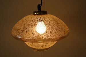 Old-Hanging-Lamp-GDR-Lamp-Iconic-Retro-Design-70er-Years-Gold-Glass