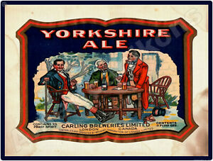 Yorkshire Ale NEW Metal Sign: Carling Breweries - London Ontario - Canada