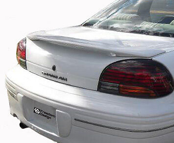 ABS PLASTIC UNPAINTED PRIMER REAR SPOILER WING FOR 1999-2005 PONTIAC GRAND AM