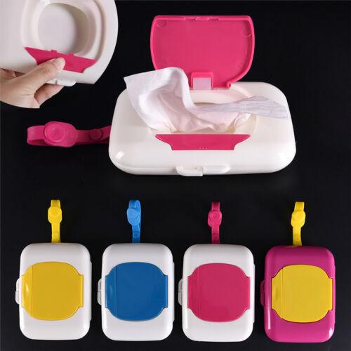 Baby Travel Wipe Case Wet Wipes Box Changing Dispenser Storage Holder Reusabl UQ