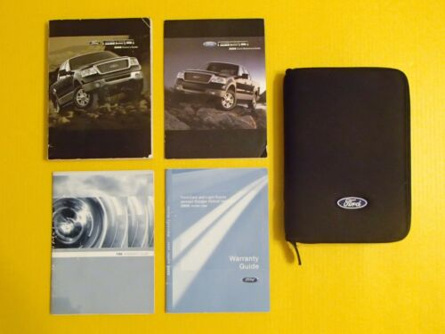 F-150 F150 Pickup Truck 08 2008 Ford Owners Owner/'s Manual Set With Case