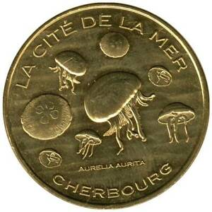 50-1929 - JETON TOURISTIQUE MDP - La Cité de la Mer - Les méduses - 2014.1