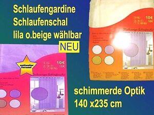 Haute-Qualite-Tete-de-rideau-en-boucle-Voilage-140x235-schimmerde-OPTIQUE-NEUF