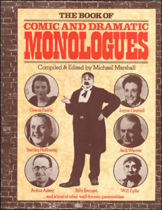 The-Book-of-Comic-and-Dramatic-Monologues-by-Marshall-Michael-Editor