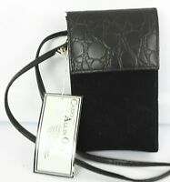 Vintage Black All In One Purse Handbag Wallet Crossbody Chateau