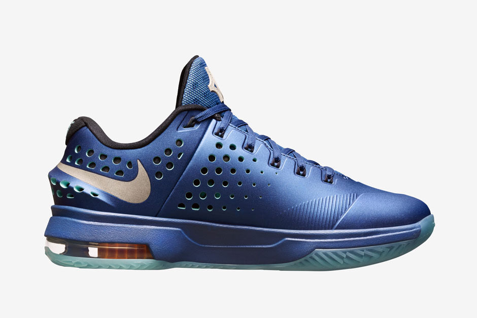 NIKE KD VII ELITE KEVIN DURANT SNEAKERS MEN SHOES BLUE 724349-404 SIZE 9.5 NEW