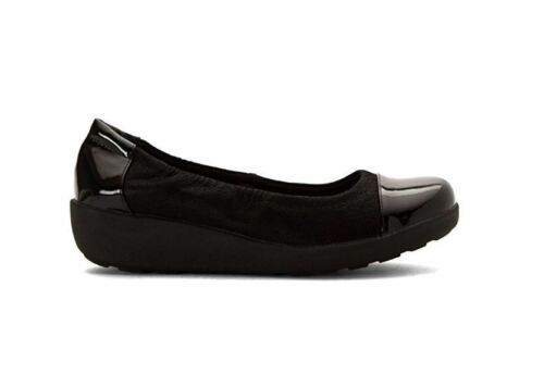 Spirit 740361518706 2 5m Slip Easy Flats Shoes On Women's Black Kable d1qvw8xvH