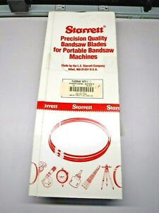 "New Starrett Band Saw Blade 12/'5/"" Length x 1 1//4/"" Width x .042 Thick Powerband 2"
