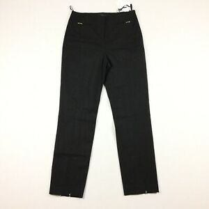 NWT The Script Womens Size 6 Black Marcella Style Ankle Career Casual Pants.E6