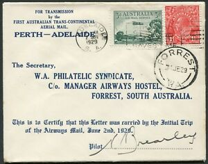 2-4-June-1929-AAMC-137a-Adelaide-Forrest-intermediate-flown-cover