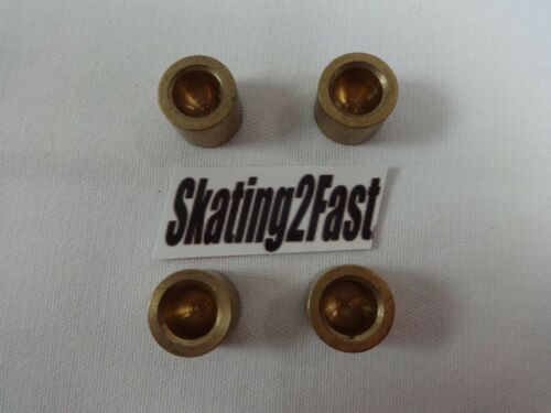 Labeda Pro-Line Plate Replacement Brass Pivot Cup Insert Set of 4 Roller Skates