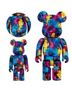8d141e1d MedicomToy BE@RBRICK Bear brick 100% & 400% mika ninagawa Anemone F ...