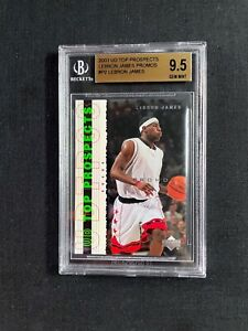 Top Prospects Promo 2003-2004 Ud  #P2 LeBron James RC Rookie BGS 9.5 Upper Deck