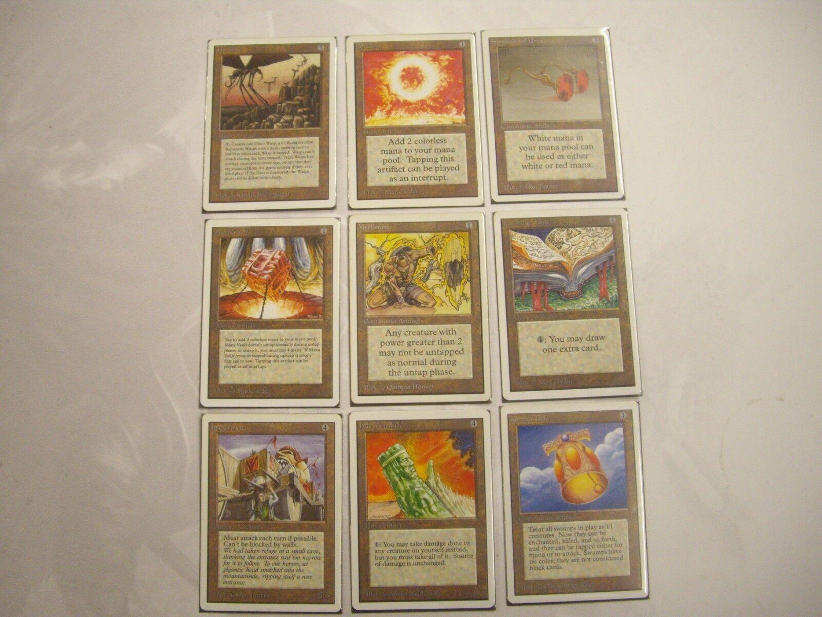 Mtg magie mega - multilist, unbegrenzte ul old - school - 94   95 -   8.