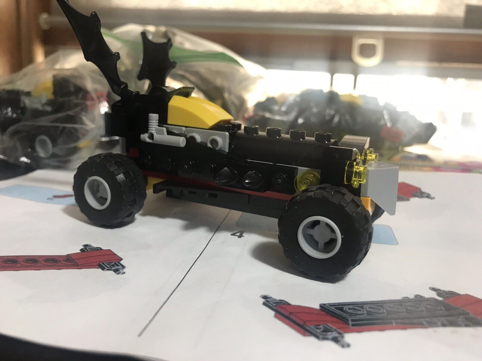 The Lego Batman Movie Batmobile SpeedAuto Barnes and Noble Masse Of 9 Plus voitureds