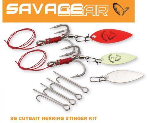 Savage Gear Cutbait Herring Stinger Kit für Gummifische Angsthaken Stringer