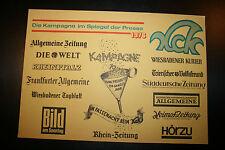KCK  Kastel - Die Kampagne im Spiegel der Presse 1976