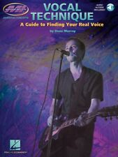 Vocal Technique a Guide to Finding Your Real Voice Book and Audio 000695427