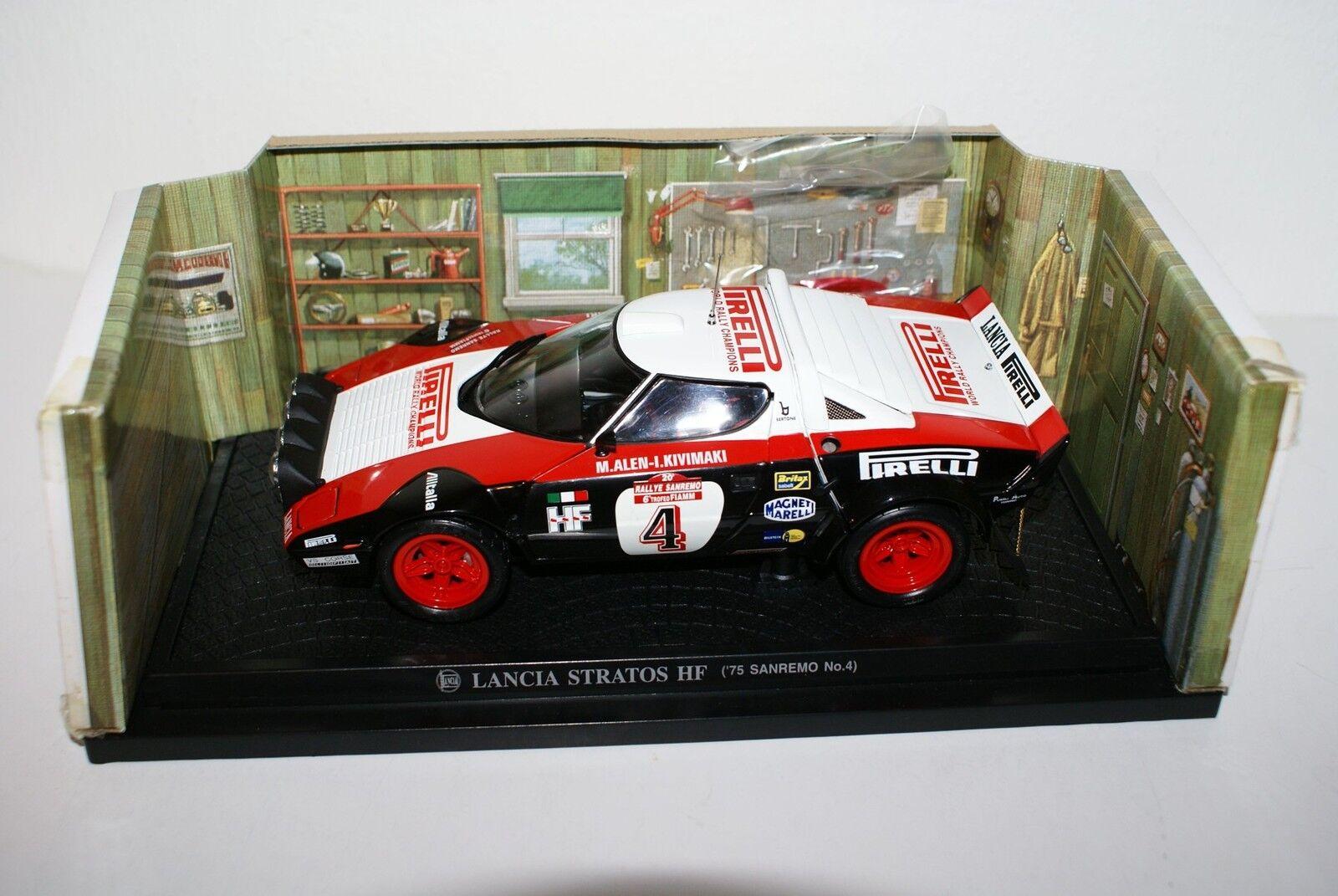Kyosho 1 18 - Lancia Stratos HF-San Remo 1975, No. 4, Pirelli