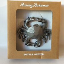 Tommy Bahama Silver Crab Cast Iron Bottle Opener Summer Fun!