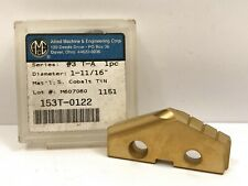 Ame Allied Engineering 153t 0122 1 1116 Dia New Spade Drill Insert 1pc