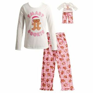 Dollie Me Girl 4-14 and Doll Matching Smart Cookie Pajamas Outfit ... 86134ae64