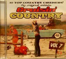 CRUISIN' COUNTRY - Volume #7 - 30 VA Tracks'