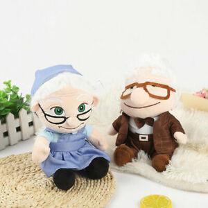 Movie-UP-Carl-Fredricksen-Russell-Ellie-Plush-Doll-Stuffed-Toy-8-034-Figure