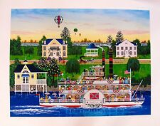 Jane Wooster Scott HEART OF DIXIE Large Hand Signed Limited Edition Serigraph