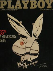 Playboy-January-1989-35th-Anniversary-Issue-Collector-039-s-Edition-1300
