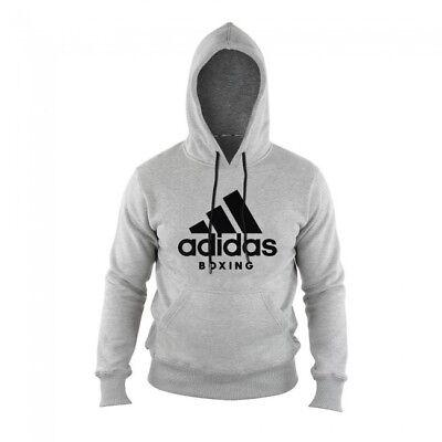 Adidas Community Hoody Grigio/nero. Kaputzenhoody, Tg S-xxl. Box,- Superiore (In) Qualità